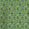 Bomuldsjersey økotex m/digitalt tryk grøn med fodboldspiller-05