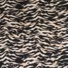 Bomuld/lycra økotex m/zebraprint i lys laks, beige, sort-06