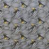 Bomuldsjersey økotex m/digitalt tryk med Miraculous Ladybug i grå, sort og gul-015