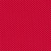 Bomuld lycra økotex med lille prik, rød hvid-06