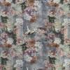 Bomuldsjersey økotex m/digitalt tryk med trane i antik look-013