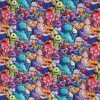 Bomuld/elasthan digitalt tryk med Monsters Inc-012