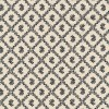Afklip Patchwork stof i sort og off-white og med rudemønster 50x-03