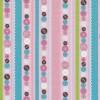 Patchwork stribet stof med knapper i lyserød-05