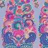 Patchwork af Kaffe Fassett stormønstret stoffet er lyselilla, pink-05