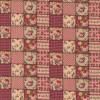 Rest Patchwork stof ternet lapper i rosa og beige 90 cm.-03