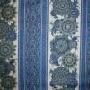 Patchwork stofmetervare Royalty med striber/mønster blå/guld/off-03