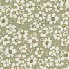 Bomulds-poplin m/blomster, lys oliven/hvid/lysegul-05