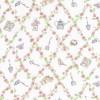 Afklip Patchwork stof i off-white Melissas Magic garden 50x55cm-03
