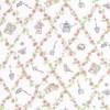 Rest Patchwork stof off-white Melissas Magic garden 38 cm.-01