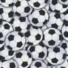 Patchwork stof med fodbold i hvid og sort-03