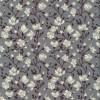 Bomulds-poplin med blomster grå hvid aubergine-08