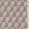 Tilda Patchwork stof i pudderbrun med sjalsmønster-05