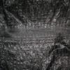 Rest sort quilt med smock-syning 85 cm.-016