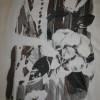 Bomuld/silke-voil m/blomster-motiv, hvid/brun/grå-05