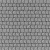 Skjorte poplin med stræk, hvid med sort tern-05