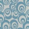Afklip Jacquard strik m/cirkler off-white/støvet lyseblå, 75 cm.-05