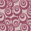 Afklip Jacquard strik m/cirkler off-white/mørk rosa, 75 cm.-05