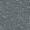 Ribstrikket meleret strik, lysegrå/sort-05