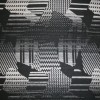 Mønstret uld sort/grå/off-white-03
