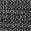Rest Meleret tweed grå sort-110 cm.-06