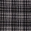 Rest Boucle tern i hanefjed sort/hvid, 75 cm.-03