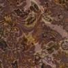 Spantex Velour med blomster i pudder-rosa, sort, offwhite-09