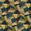 100% viscose med digitalt print grafisk mønster i petrol sand marine-014