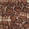 100% viskose med slange print i rødbrun sort offwhite-029