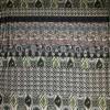 Viskose jersey med bred stribe mønster sand army rosa-014