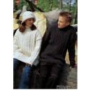 20063 Barnesweater m/ aranborter