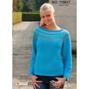 110917 Sweater m/rundt bærestykke