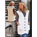 111564 Lang vest m/lommer