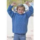 313176 Aransweater