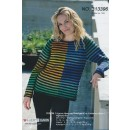 313396 Stribet sweater i 2 kvaliteter