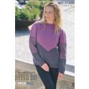 313400 Sweater m/grafisk mønster