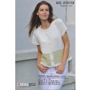 515119 Kort trøje m/kædemønster