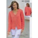 515224 Sweater m/V-hals