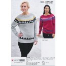 515548 Sweater m/trekanter