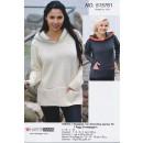 515761 Sweater m/hætte