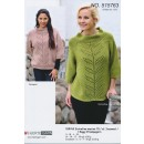 515763 Sweater m/bladbort