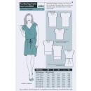 Onion 2050 Tunika-top-kjole med vandfald