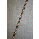 Anoraksnor 5 mm. fler-farvet rød/gul/grøn