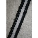 Elastisk bånd sort-klar