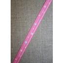 Retro grosgrain bånd med bobler, pink