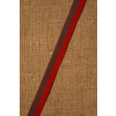 2-farvet bånd lilla-rød