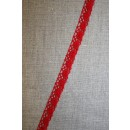 Bomulds-blonde 10 mm. rød