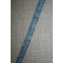 Strækblonde 12 mm. batik denim-støvet blå