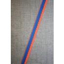 Kantelastik 2-farvet blå - orange