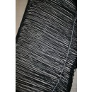 Frynsebånd 50 cm. sort